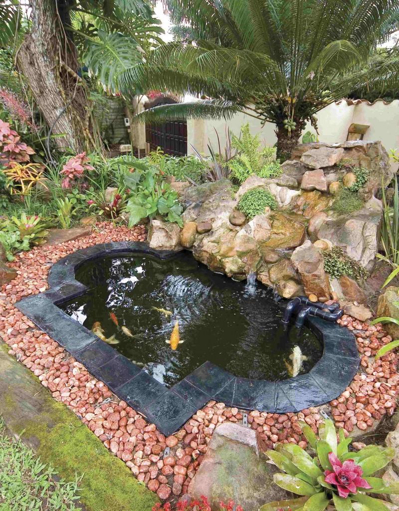 Fibreglass Water Feature Ponds   Riverrock.co.za